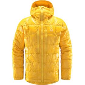 Haglöfs Roc Mimic Hood Jacket Men pumpkin yellow